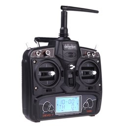 Wholesale Flybarless System - Wholesale-Walkera V450D03 6CH 450 Flybarless 6 Axis Control System RC FBL Helicopter w  with DEVO 7 Transmitter