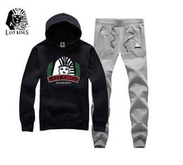 Wholesale Fast Hood - Fast shipping Stunning men winter last kings last kings hoodies LK jacket with hood sweatshirt plus velvet clothing hip hop tyga