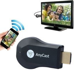 Wholesale Mini Tv Dongle - Anycast M2 Plus DLNA Airplay WiFi Display Miracast Dongle HDMI Multidisplay 1080P Receiver AirMirror Mini Android TV Stick