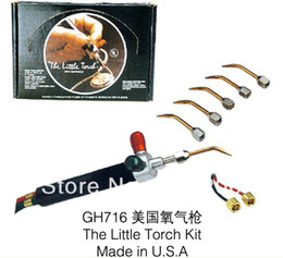 Wholesale Gold Mini Torches - Wholesale-Mini Smith torch Soldering Smith equipment Gold Welding Torch goldSmith Equipment for jewelry tools With 5 Tips Free shipping