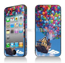 Wholesale World Travel Stickers - Wholesale-Travel around the world whole body mobile phone stickers for iphone 4 4S,for iphone 4 4s stickers on the phone free shipping
