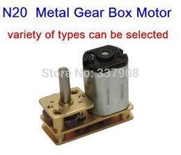Wholesale Flip Door - N20 DC3-12V 5-800RPM Micro gear Motor with Metal Gear Box,Low-speed Motor, Flip-type gear motor special hotel door locks