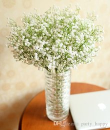 Wholesale Wholesale Fake Carnations - PU Material Fake Flowers Manufacturers Selling Wholesale Simulation White Flowers All Over The Sky Star All Over The Sky Star Rayon Bride We