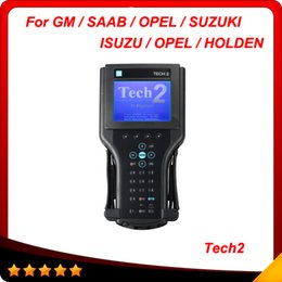 Wholesale Professional Tech2 - Professional for GM Tech2 Scanner With Candi And TECH2 32MB Card with 6 software Optional no plactis box DHL free shipping