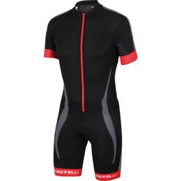 Wholesale Team Cycling Tights - Wholesale-3 Color New 2015 Speedsuit Team Shorts and Tights Cycling Skinsuit Men's Triathlon Sports Clothing Ropa De Ciclismo Maillot