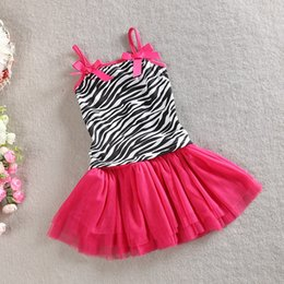 Wholesale Girls Leopard Print Tutu Set - leopard print girls clothing Spaghetti Strap tank tops skirt 2 piece baby girls tutu skirt set leopard girls set free shipping in stock