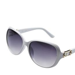 Wholesale Colourful Glasses Frames - Wholesale-Luxury Fashion Colourful Summer Style Sun Glasses Anti UV 400 Lady Girl Women's Outdoor Eyeglasses Oval Big Frame Sunglasses