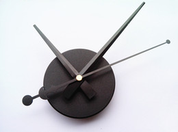 Wholesale Hand Wall Clock - 2016 Wholesale Black Fashion DIY Wall Clock Home Decoration with Hands