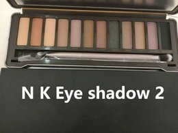 Wholesale Eyeshadow Make Up Palette - N K E Dmakeup eyeshadow palettes eye shadow pallet 12 color NKED 1.2.3.5 decay Makeup naked Palettes chocolate with Make up Free Shipping
