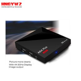 Wholesale 2gb Usb - A5X Plus Android 7.1 TV Box RK3328 Quad Core 64bit Cortex-A53 2GB 16GB(1GB 8GB) USB 3.0 Wifi 4K VP9 H.265 HDR10 Media Player PK X96 A95X