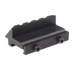 Wholesale Weaver Picatinny Offset - Funpowerland Hunting Accessories Heavy Duty 45 Degree Angle Offset 20mm Picatinny Weaver Rail Scope Mount Free Shipping