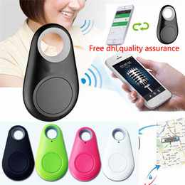 Wholesale Pets Key - child tracer iTag smart key finder bluetooth keyfinder tracer locator tags Anti lost alarm pet tracker selfie for IOS Android custom design