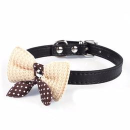 Collare in pelle regolabile per cani, collari e collari per cani, collare per gatto TT12 da colletto per cane a maglia fornitori
