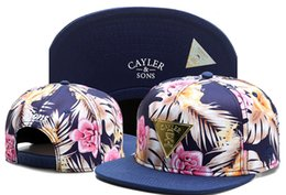 Wholesale Cheap Snapbacks Flower Hats - Cayler & Sons Caps and Hats Snapbacks Men Flower Snapback Cayler and Sons snapback hats cheap discount Caps Online Free Shipping TYMY 420