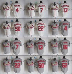 Wholesale Authentic Jersey 52 - st. louis #52 michael wacha 2015 Baseball Cool Base Jersey,Best quality,Authentic Jerseys,Embroidery Logo,Size M--3XL,Mix Order