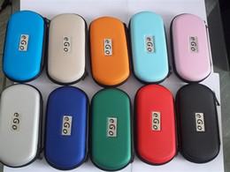 Wholesale E Cig Zipper Double - Electronic Cigarette S M L XL eGo Zipper Cases E Cig Leather Bag For Single Double EGO-T Batteries Electronic Cigarette Zipper Cases