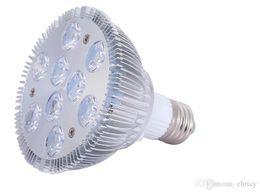 Wholesale Super Bright 86 Led - Super Bright E27 Dimmable Led Spotlight PAR20 PAR30 PAR38 9W 10W 14W 18W 24W 30W LED Light Bulb Lamp AC 86-265V