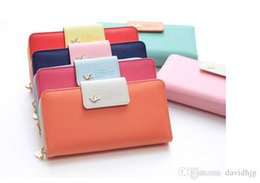 Wholesale Wholesale Bag Manufacturers - Manufacturers wholesale! 2015 New Arrival High Quality Women Wallet Brand Women's Clutch Hhone Bag Candy Color Woman Long Desgin Purses