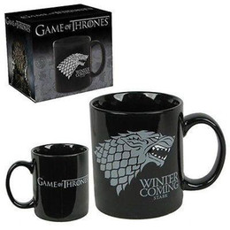 Wholesale Game Horse - Wholesale High Quality 350ml Dark Game of Thrones Horse Deluxe Mug Novelty Ceramic Dinking Tea Cup Coffee Mugs