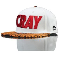 Wholesale Cray Hat - 20 styles Cayler and Sons CRAY Snapback hats White Fashion mens adjustable baseball caps cheap sale online Free Shipping