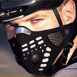 Wholesale Mtb Bicycle Cover - WOLFBIKE Mascaras Ciclismo Anti-pollution Cycling Training Mask Bicycle Sport Men Face Mask MTB Bike Air Solf Mask Cover BE107