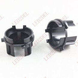 Wholesale h7 holder - Headlight H7 HID Xenon Bulb Adapter Holder Converter Base For KIA K3 K3S Car HID Accessories