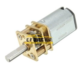 Wholesale Engine For Rc - 5pcs lot 6V Micro Electric Mini Reduction Metal Gear Motor 100RPM For RC Car Robot Model DIY Engine Toys House Appliance Parts
