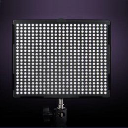 Wholesale Led Lights Panel Video - Aputure Amaran H528S LED Video Light Panels CRI +95 5500K AL-528S for Camcorder DSLR Camera Canon Nikon