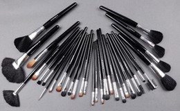 Wholesale Set Brushes 32 Pieces - Factory Direct!1 Set New Professional 32 Pieces Brush Sets With Leather Pouch!