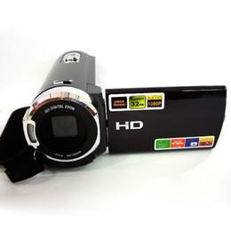 """Выход видеокамеры онлайн-Full HD 1080P видеокамера CMOS 16MP 3 """" сенсорный ЖК-экран видеокамера 16X цифровой зум противоударный DV рекордер ТВ выход"""