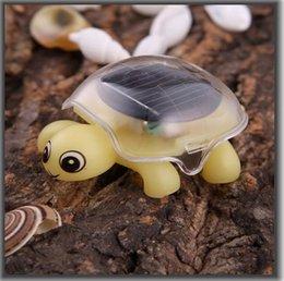 Wholesale Solar Power Tortoise - Solar Power Intellectual DIY Toy Insect Tortoise Solar toy kit Green energy Solar gift 3pcs lot 044