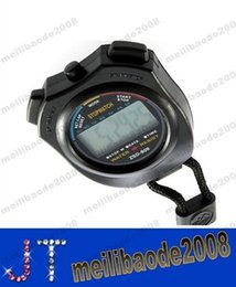 Wholesale Sport Timer Stop Watch - NEW zsd-808 sports stopwatch 2 secondmeter running timer electronic timer stop watch electronic timer running MYY13981