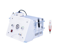 Wholesale Diamond Crystal Microdermabrasion Machines - facial crystal peel machine diamond hydro microdermabrasion + Korea MYM electric derma pen microneedle therapy