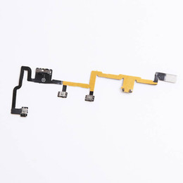 Wholesale Ipad Power Button - for iPad 2 Power Button ON OFF switch Volume Control Switch Mute Button Flex Cable Replacement Free Shipping