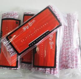 O Envio gratuito de 300 pçs / lote Intensivo Tubos De Fumo De Algodão Ferramenta de Limpeza Limpadores de Tabaco de Tabaco alta quaily acessórios de fumar frete grátis de