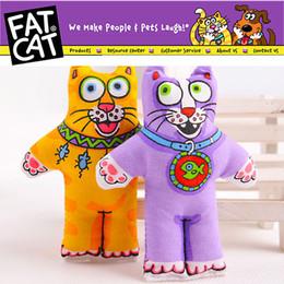Wholesale Catnip Toys - Wholesale Pet Products Cat Supplies Cat Toy Pet Toy Fatcat Toy Kitten Fat Cat With MINT Catnip Catmint 3139#