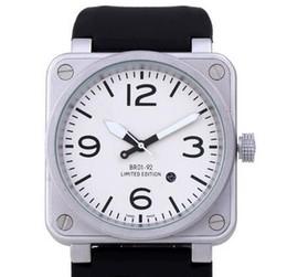 Mens de lujo automáticos relojes de pulsera suiza marca nuevo modelo moda de goma fecha hombres de acero inoxidable relojes antiguos Mans Sporting Dropship desde fabricantes