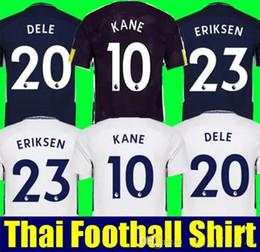 Wholesale Harry Shirts - Thai aaa quality maillot de foot DELE ALLI Harry KANE soccer jerseys 17 18 Wanyama Dembele SON LAMELA ERIKSEN football shirt camisetas