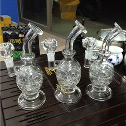 Wholesale Pyrex Bubble - bong pyrex water pipes recycler Egg Mother Fab Egg bubble smoking water pipes bongs wax bong manufacturers