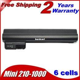 Wholesale Batteries Hp Mini - Free shipping- Laptop Battery For HP Compaq Mini 210-1180CA 210-1175sa 210-1048TU 210-1038TU 210-1010SS 210-1004TU 210-1091NR 210-1025TU