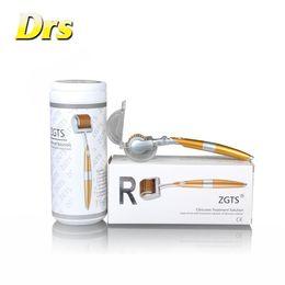Wholesale Dermaroller Scars - ZGTS 192 Dermaroller for skin care Titanium Derma Roller zgts microneedling wrinkle scar remover