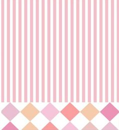 Wholesale Backdrop Vinyl Pink - 5X7FT Pink Straps Diamond Art Vinyl Backdrop Background For Kid Photos Studio Computer Printed Photography Senior Backgrounds Backdrops