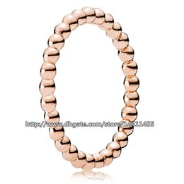 Wholesale Pandora 14k Gold Charms - Fashion Jewelry Ring Women Ring European Pandora Style 100% 925 Sterling Silver & Rose Gold Plated Eternal Clouds Charm Ring