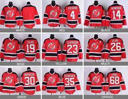 Wholesale elias jersey - Factory Outlet, Cheap Men's New Jersey Devils #30 Martin Brodeur Stevens #26 Patrik Elias Brodeur Cammalleri Zajac Henrique RED Jerseys