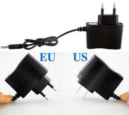 Wholesale Power Holes - 4.2V Charger 110~240V Power Supply Direct Charge Flashlight and Headlamp 3.5mm Plug Hole 500mA Charger Free Shipping