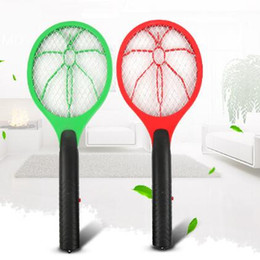 Wholesale Mosquito Fly Swatter - New Handheld Mosquito Killer Fly Swatter Electric Pest Reject Mosquito Repellent Bug Bat Insect Killer For Camping CCA7982 30pcs