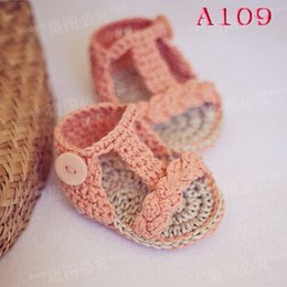 Wholesale Baby Boy Size 12 Months - Wholesale-Free Shipping Crochet Baby Sandals, Baby woven sandals, Crochet Baby Shoes, Sizes 0-12 Months