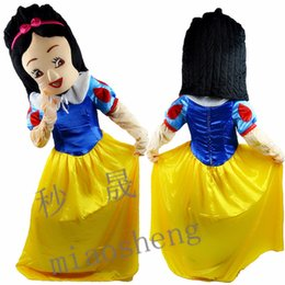 Wholesale Mascot Costumes Dwarf - Snow White and the seven dwarfs performance costumes, mascot walking cartoon doll activity