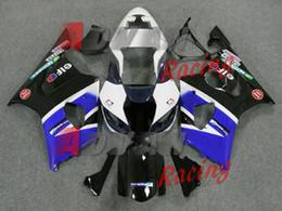 Wholesale Suzuki Fairing Bolts Black - free shipping+8 gifts For Suzuki GSXR1000 2003-2004 Fairings Bolts Screws Set Bodywork Plastic 037
