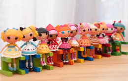 Wholesale Family Articles - Wholesale-Hot MINI LALALOOPSY lele angel doll MINI doll, the family is decorated furnishing articles, MINI doll, collect, children's